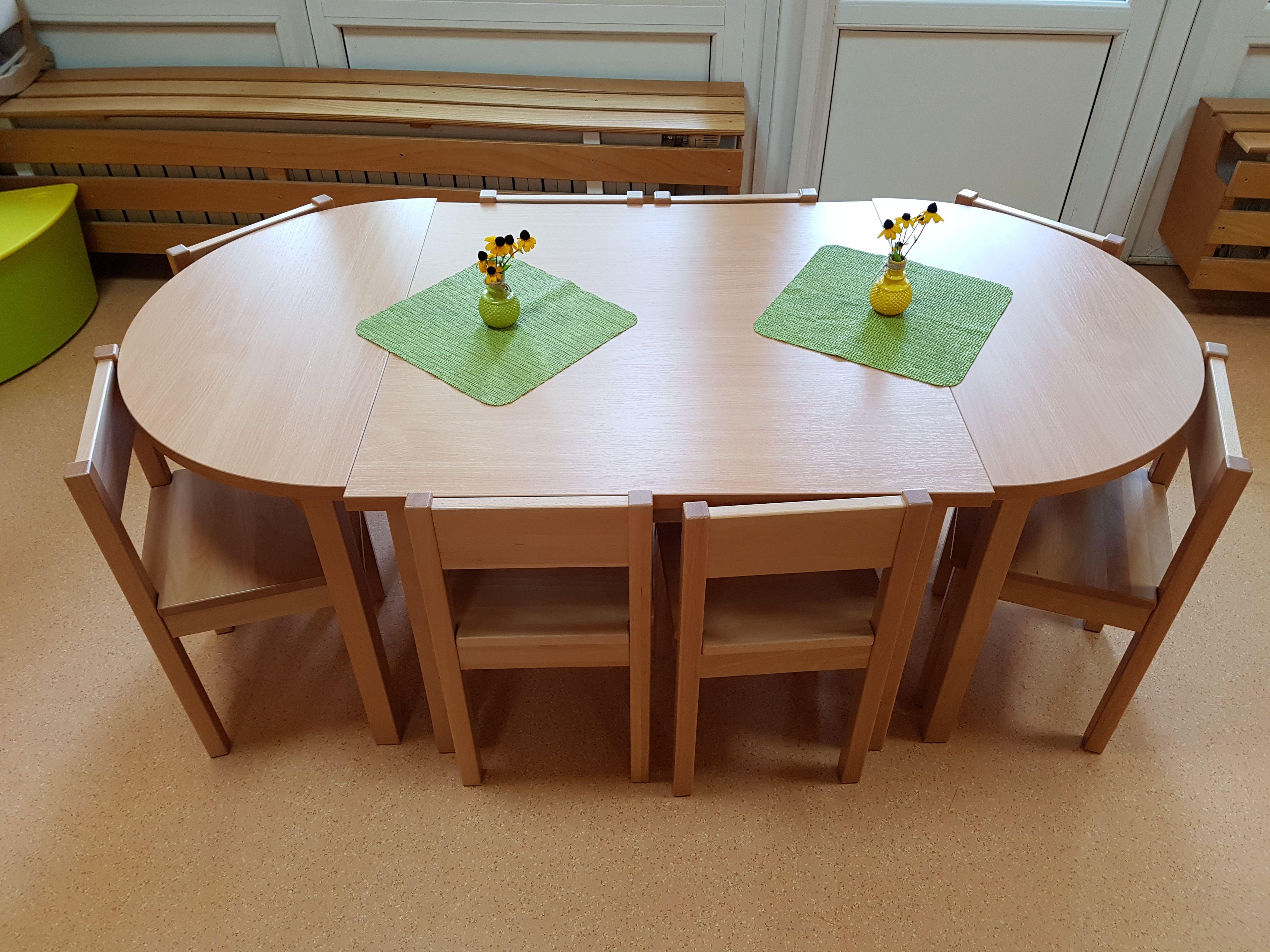 Modularna otroška miza